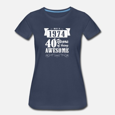 Made-in-1974 Made in 1974 - Women's Premium T-Shirt