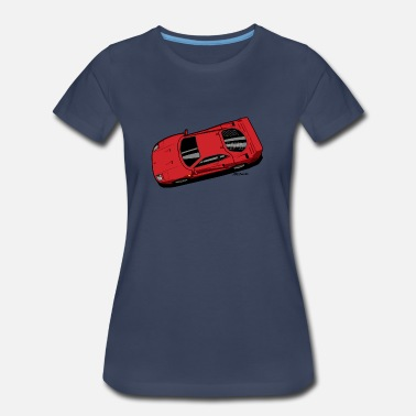 Supercar F40 Berlinetta Rosso - Women's Premium T-Shirt
