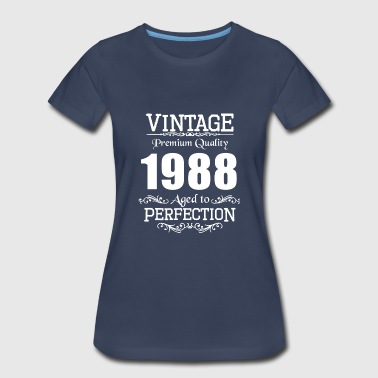 1988 May Vintage Premium Quality 1988 Aged To Perfection - Women's Premium T-Shirt