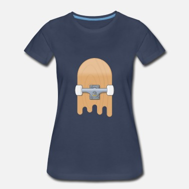 Skateboard Illustration Skateboard - Women's Premium T-Shirt