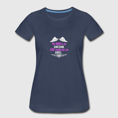MY MOM IS SO AWESOME - Women's Premium T-Shirt