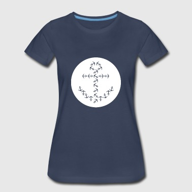 Boat Anchor in Anchor - Women's Premium T-Shirt