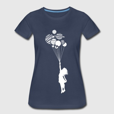 Astronomy Fly Away with Me - Women's Premium T-Shirt