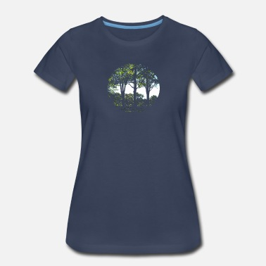 La Folie Trees - arbres - Women's Premium T-Shirt