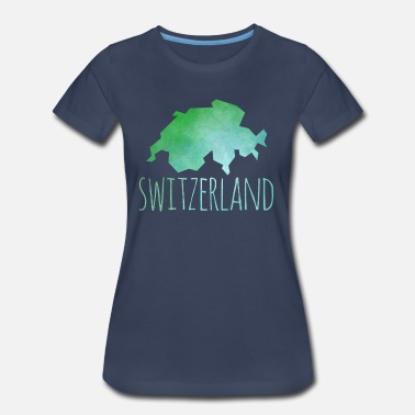 Switzerland Art switzerland - Women's Premium T-Shirt