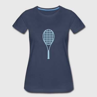 racket tennis - Women's Premium T-Shirt