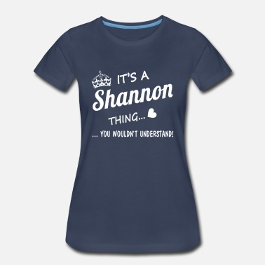 Leto It's a SHANNON thing - Women's Premium T-Shirt
