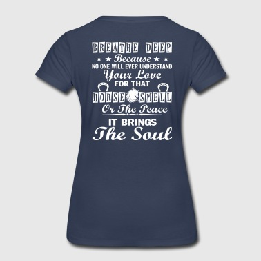 Smell Scent horse smell - Women's Premium T-Shirt