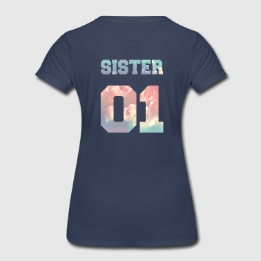 Sister 01, Sisters, Siblings, Family, Birthdays - Women's Premium T-Shirt