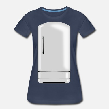 Ghastly White Fridge - Women's Premium T-Shirt