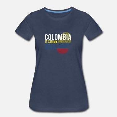 Colombia Baby Colombia It's in my DNA - Women's Premium T-Shirt