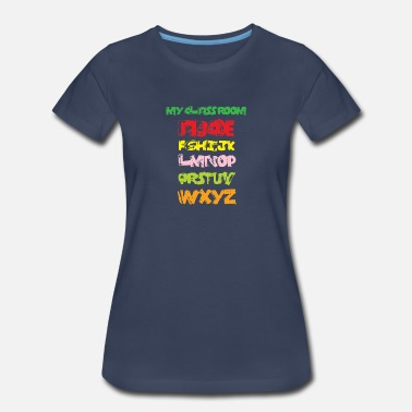 289cb590 Brash Alphabet - Women's Premium T-Shirt. New. Women's Premium T-Shirt.  Brash Alphabet