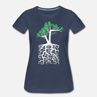 Square Square Root - Women's Premium T-Shirt