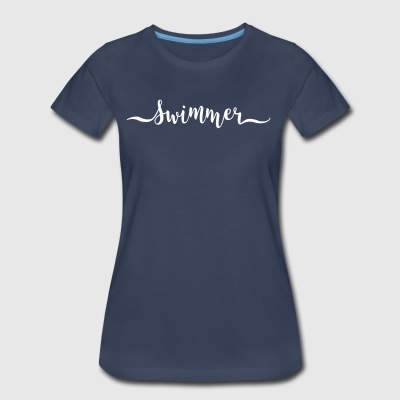 swimmer - Women's Premium T-Shirt