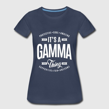 Gamma Thing - Women's Premium T-Shirt