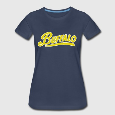 Buffalo Throwback - Women's Premium T-Shirt