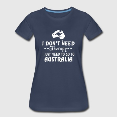 I JUST TO GO AUSTRALIA - Women's Premium T-Shirt