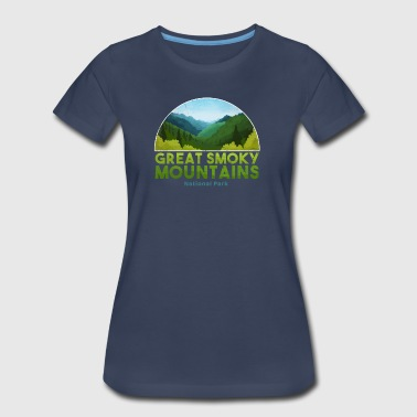 Great Smoky Mountain National Park T shirt Hiking - Women's Premium T-Shirt