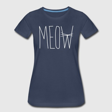 Meow Whiskers - Women's Premium T-Shirt