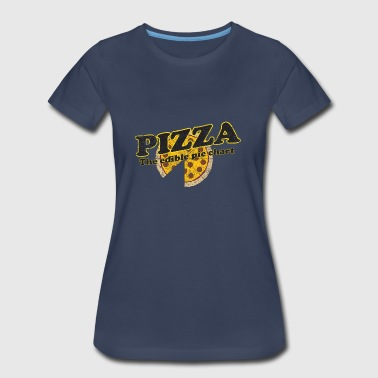 Pizza. The Edible Pie Chart - Women's Premium T-Shirt