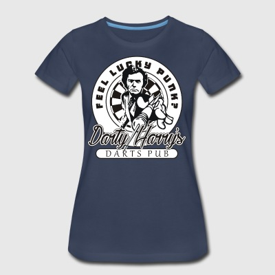 Darty Harry's Darts Pub Darts Shirt - Women's Premium T-Shirt