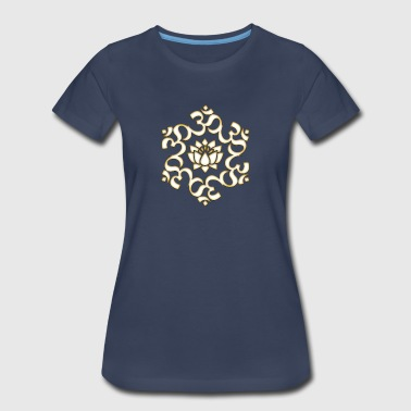 Om Lotus, Buddhism, Yoga, Meditation, spiritual - Women's Premium T-Shirt
