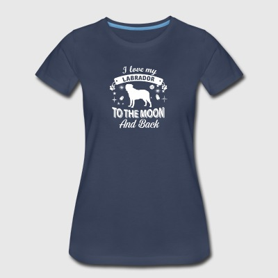 Love my Labrador - Women's Premium T-Shirt
