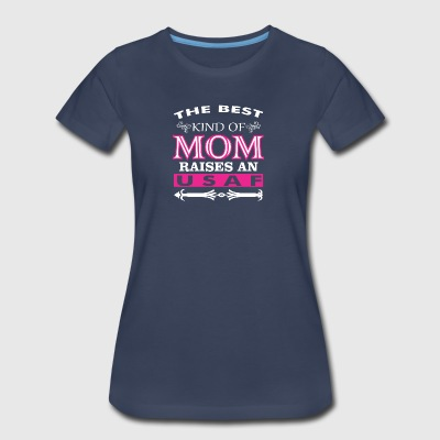 The Best Kind Of Mom Raises An USAF - Women's Premium T-Shirt
