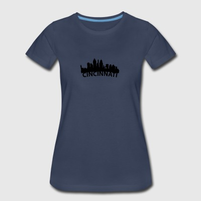 Arc Skyline Of Cincinnati OH - Women's Premium T-Shirt