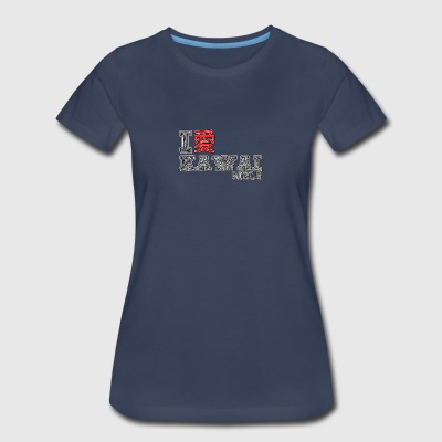 I love Kawai Girls - Women's Premium T-Shirt