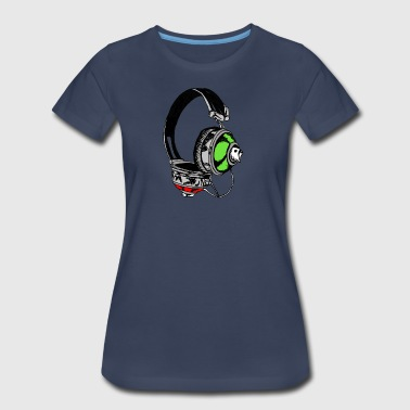 Music & Graffiti - Women's Premium T-Shirt