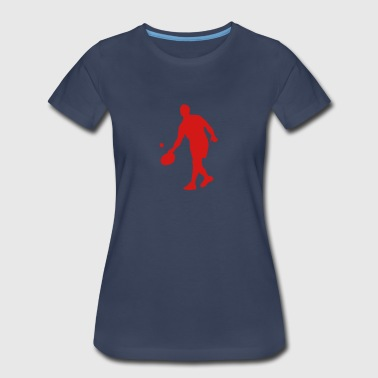 tambourine ball game 1 - Women's Premium T-Shirt
