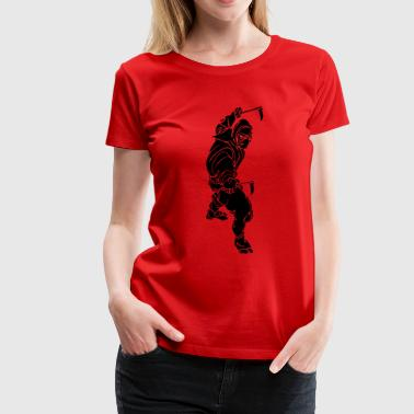 TRIBAL NINJA - Women's Premium T-Shirt