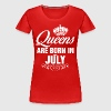 Queens Are Born In July Tshirt - Women's Premium T-Shirt