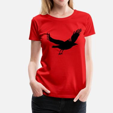 Plus Crow - Women's Premium T-Shirt