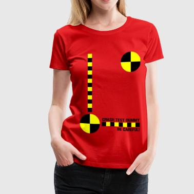Crash Test Dummy Design - Women's Premium T-Shirt