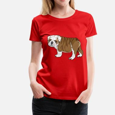 Puppy Bulldog Bulldog Puppy - Women's Premium T-Shirt