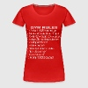 Gym Rules #1 No Curing In The Squat Rack   - Women's Premium T-Shirt