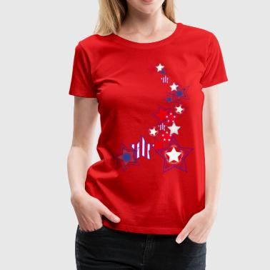Stars and Stripes - Women's Premium T-Shirt