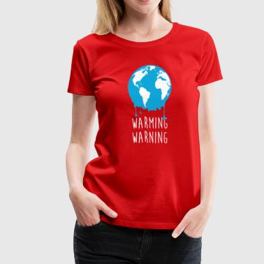 Urban Wildlife Ecology Warming Warning Ecology T-shirt - Women's Premium T-Shirt