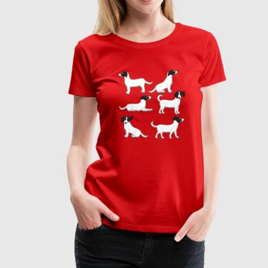mixed breed white - Women's Premium T-Shirt