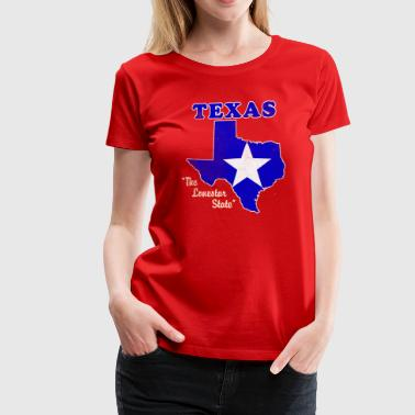 Texas, the lonestar state - Women's Premium T-Shirt
