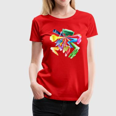 3d Graffiti - Women's Premium T-Shirt