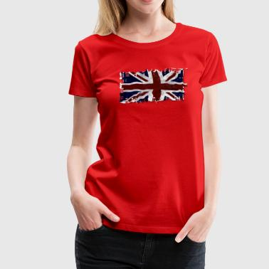 UK Union Jack Flag - Women's Premium T-Shirt