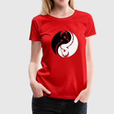 Dragon Yin Yang dragon yin yang - Women's Premium T-Shirt