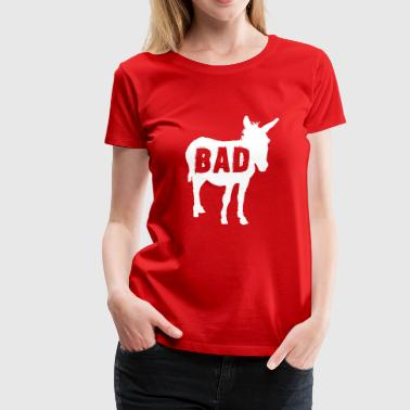 Bad Donkey Bad Ass Donkey - Women's Premium T-Shirt