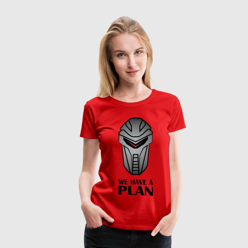 We Have A Plan Cylon - Women's Premium T-Shirt