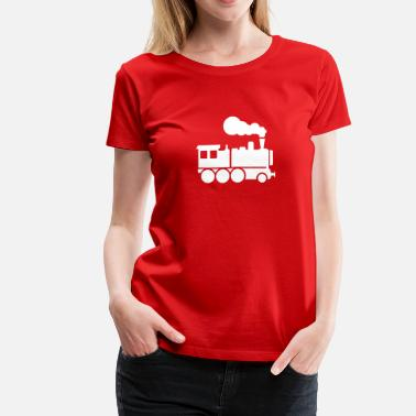 Steam Locomotive Locomotive - Women's Premium T-Shirt