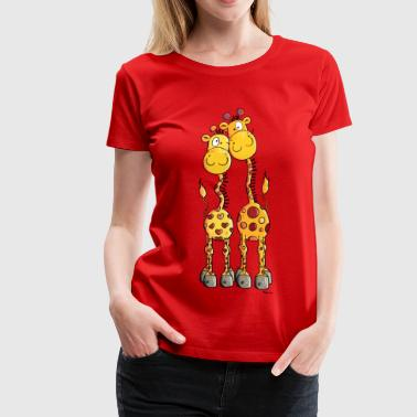 Love Giraffes - Women's Premium T-Shirt