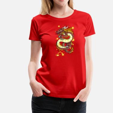 Cute Dragon Dragon - Women's Premium T-Shirt